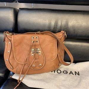 Hogan (Tod's) made in Italy leather bag.